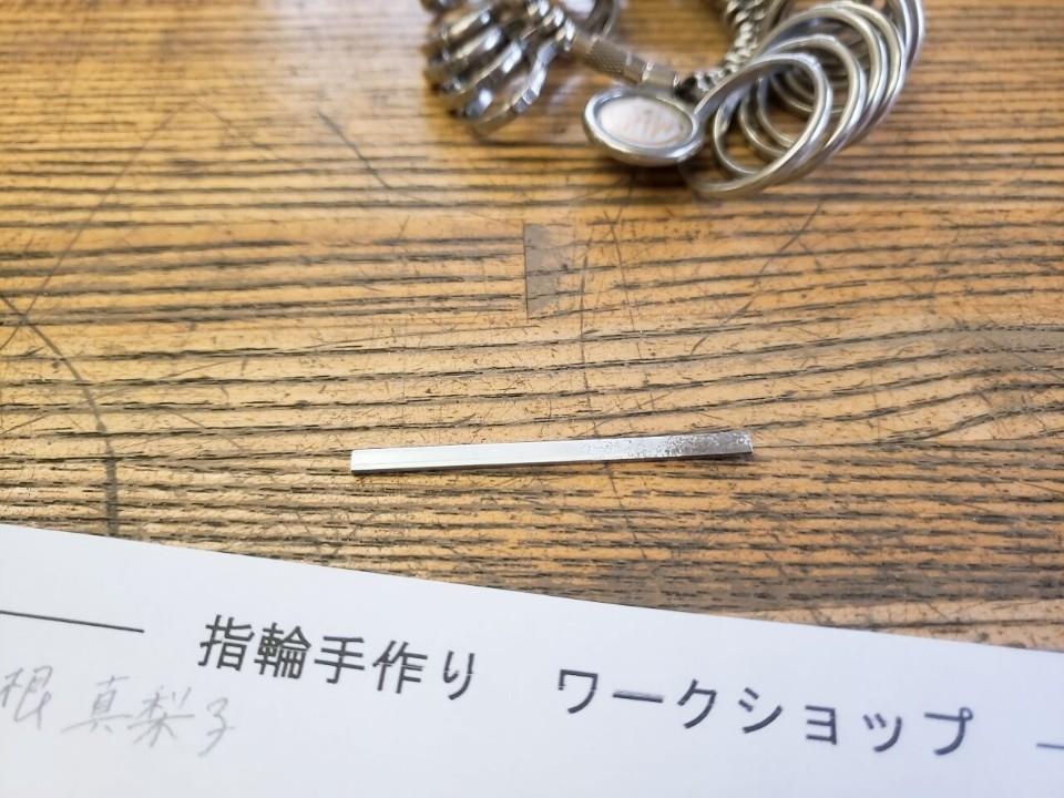 【記念日に】表参道で!楽しく!シルバーリング作り♡_2