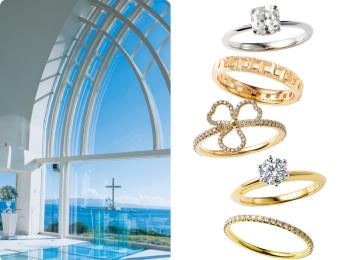 結婚式におすすめの式場・リング・ドレス・ブーケまとめ - 演出アイデアや先輩花嫁のウェディングレポもチェック