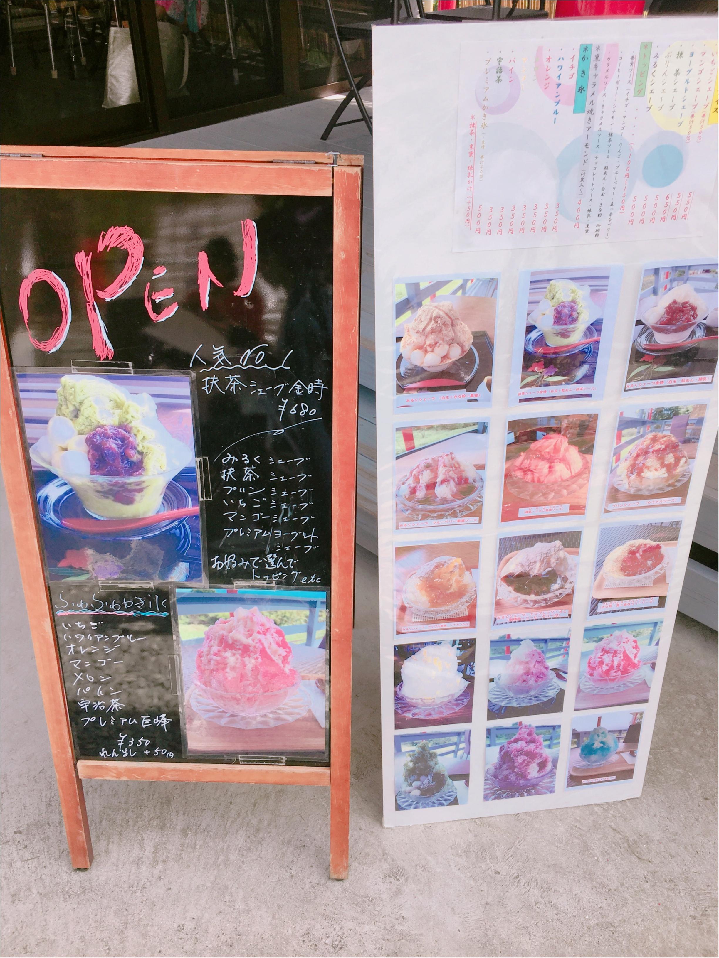 甲佐町のかき氷屋さんで味わう、ふわっふわな絶品かき氷〜〜!【#モアチャレ 熊本の魅力発信!】_2