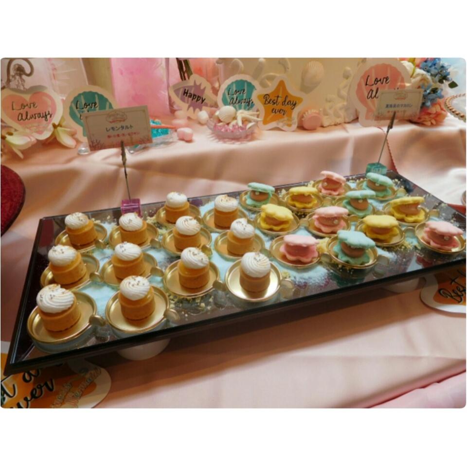 《可愛いすぎる♡♡♡》プリンセスマーメイドスイーツパーティで素敵な時間を♡_15