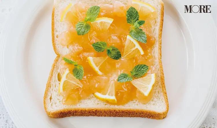 【1】りんごバター&レモンの食パンアレンジ