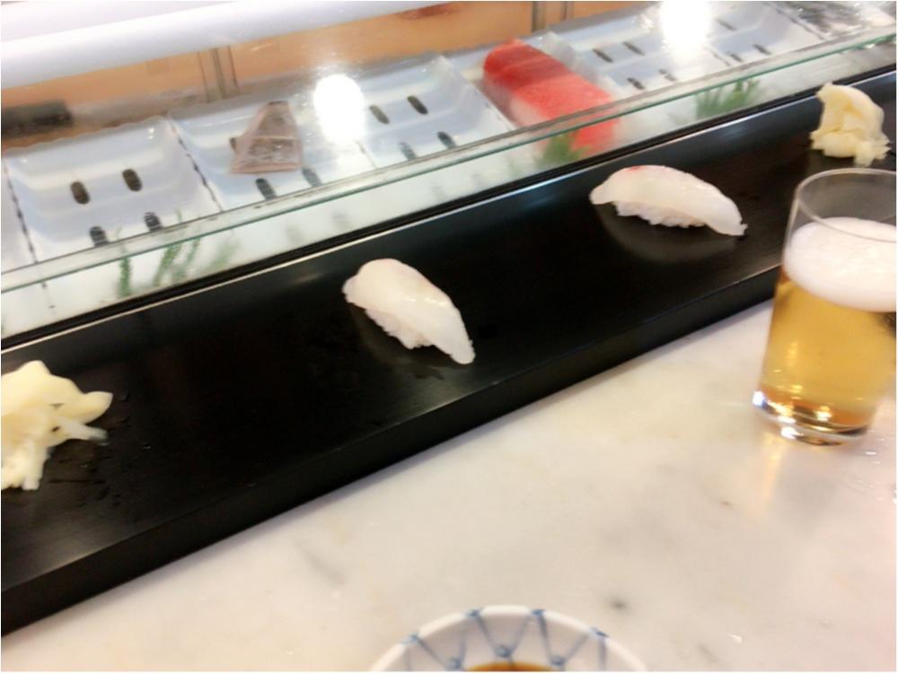 絶品お寿司を築地にて♡_3