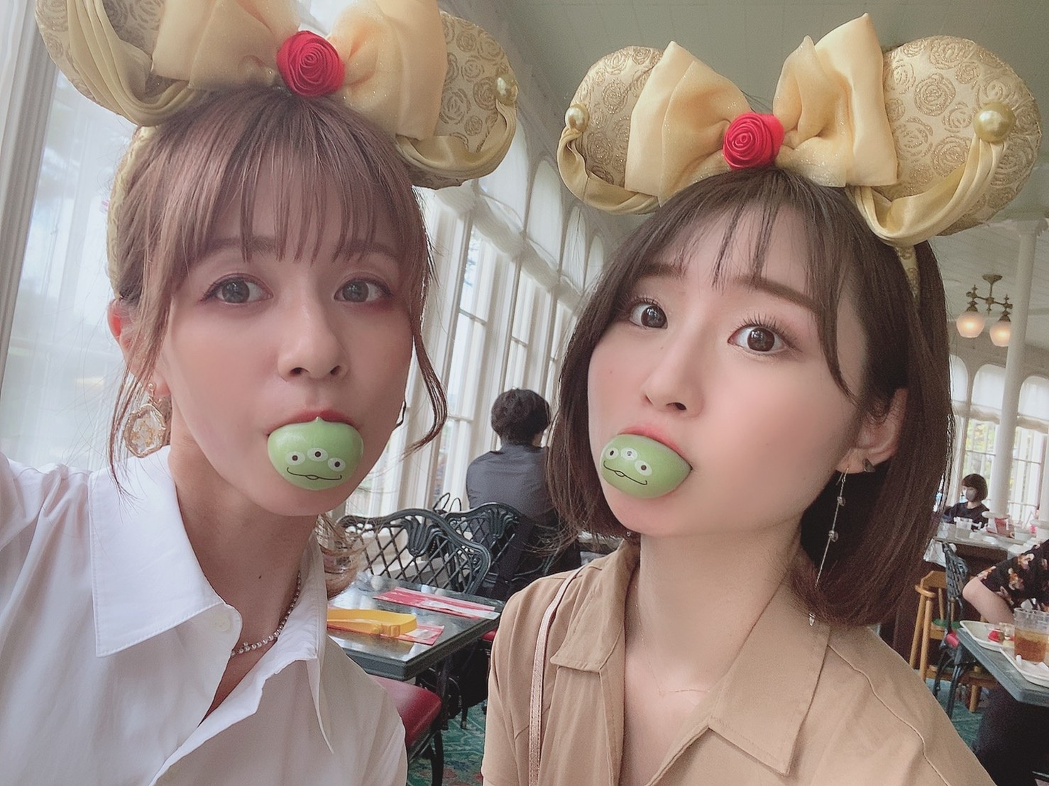 【ディズニー】パークのフード食べ放題♡_3