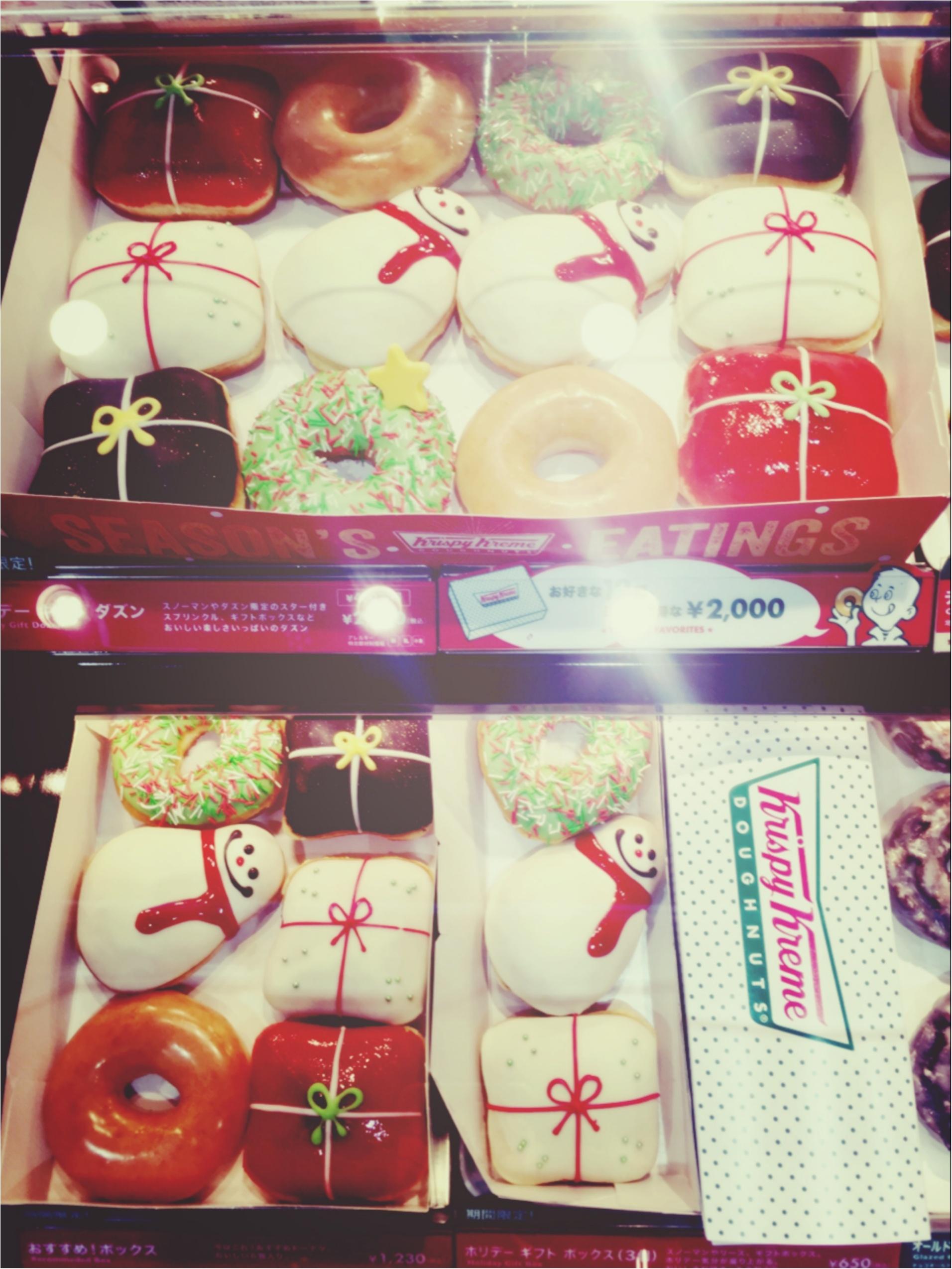 《☆先取りクリスマス☆》クリスピークリームの限定ドーナツ♡ 【no.321 りょう】_3