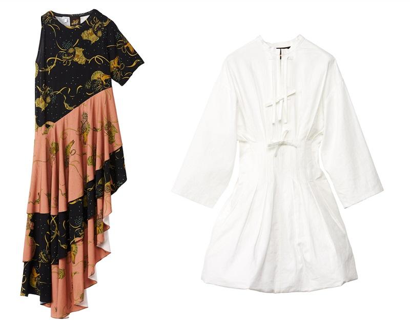 ロエベ「パウラズイビザ」のドレス