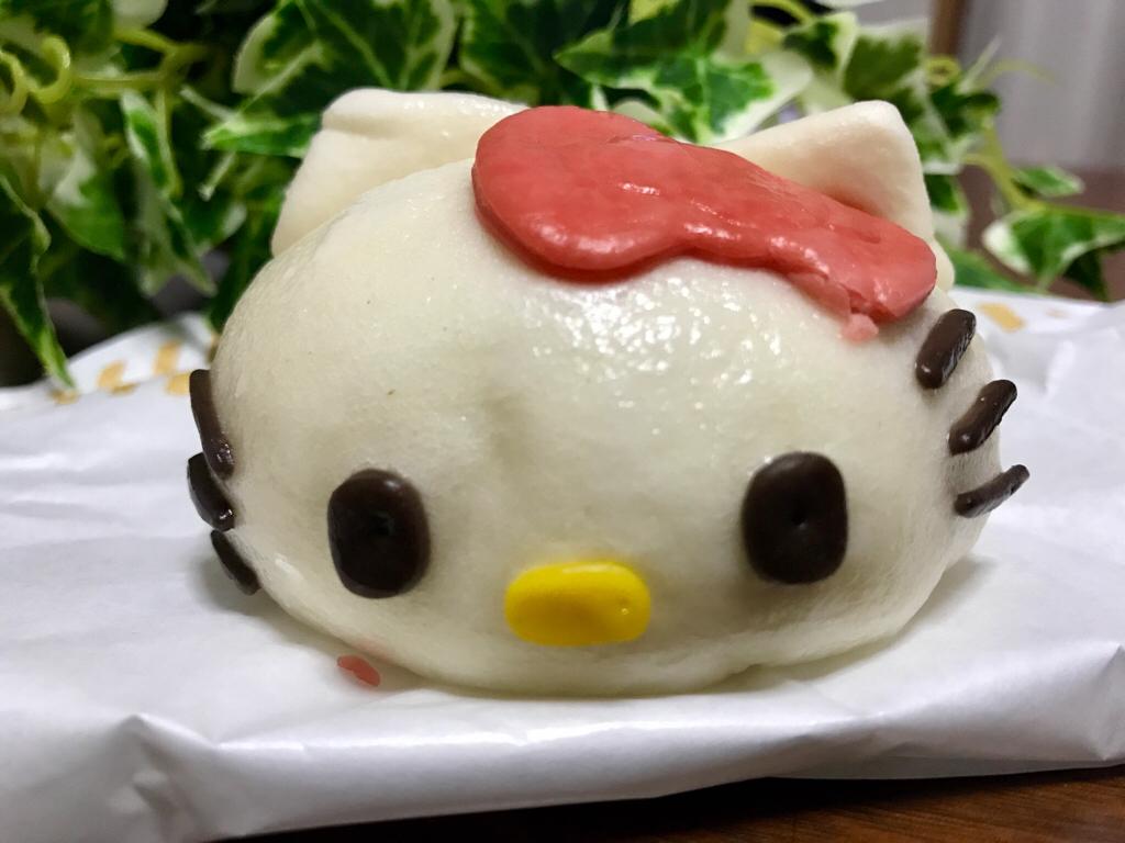 【ローソン】生誕45周年★《ハローキティまん》が可愛すぎて食べられない♡♡_5