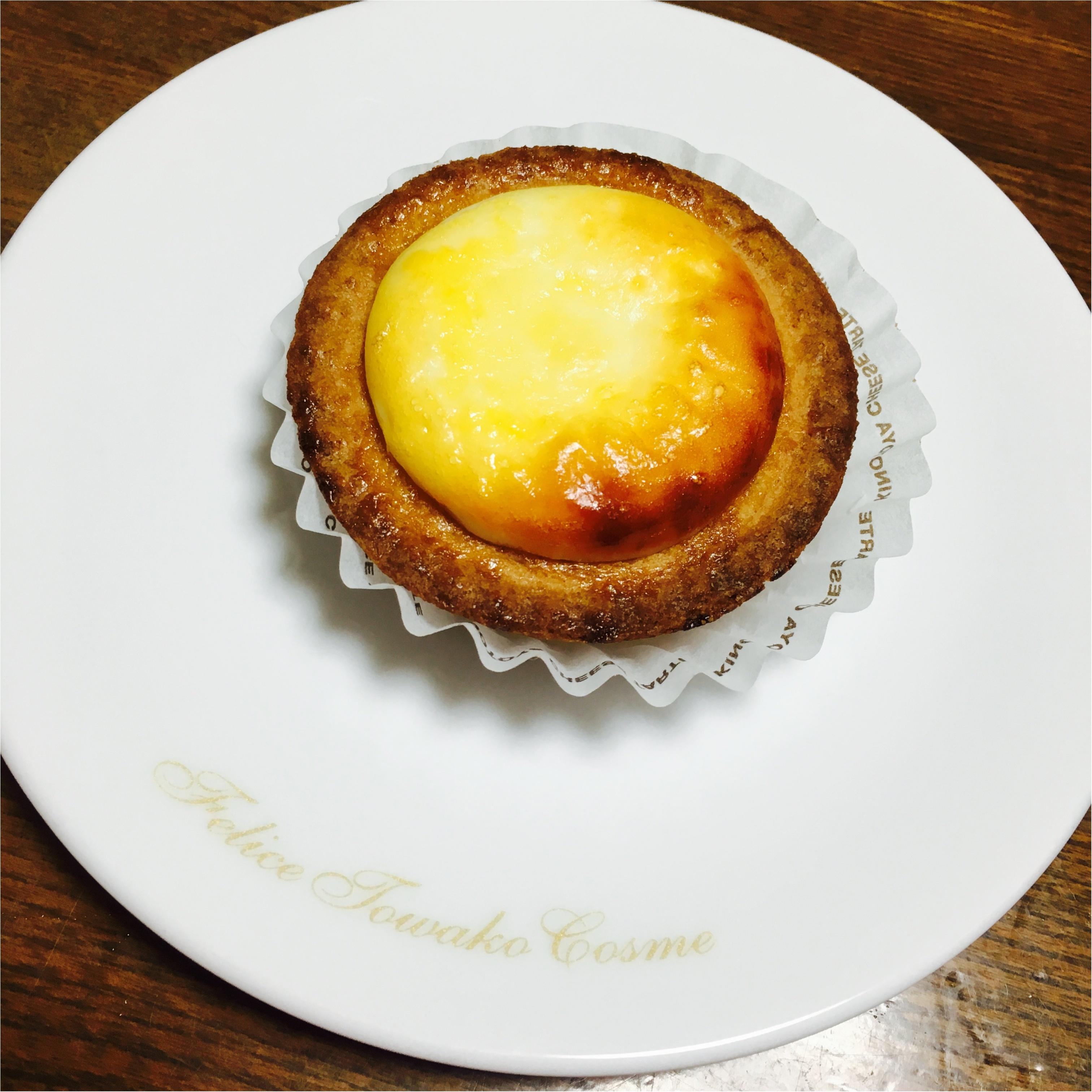 最近ハマった大好きなスイーツ❤︎チーズタルトを食べ比べ(o´罒`o)♡_2
