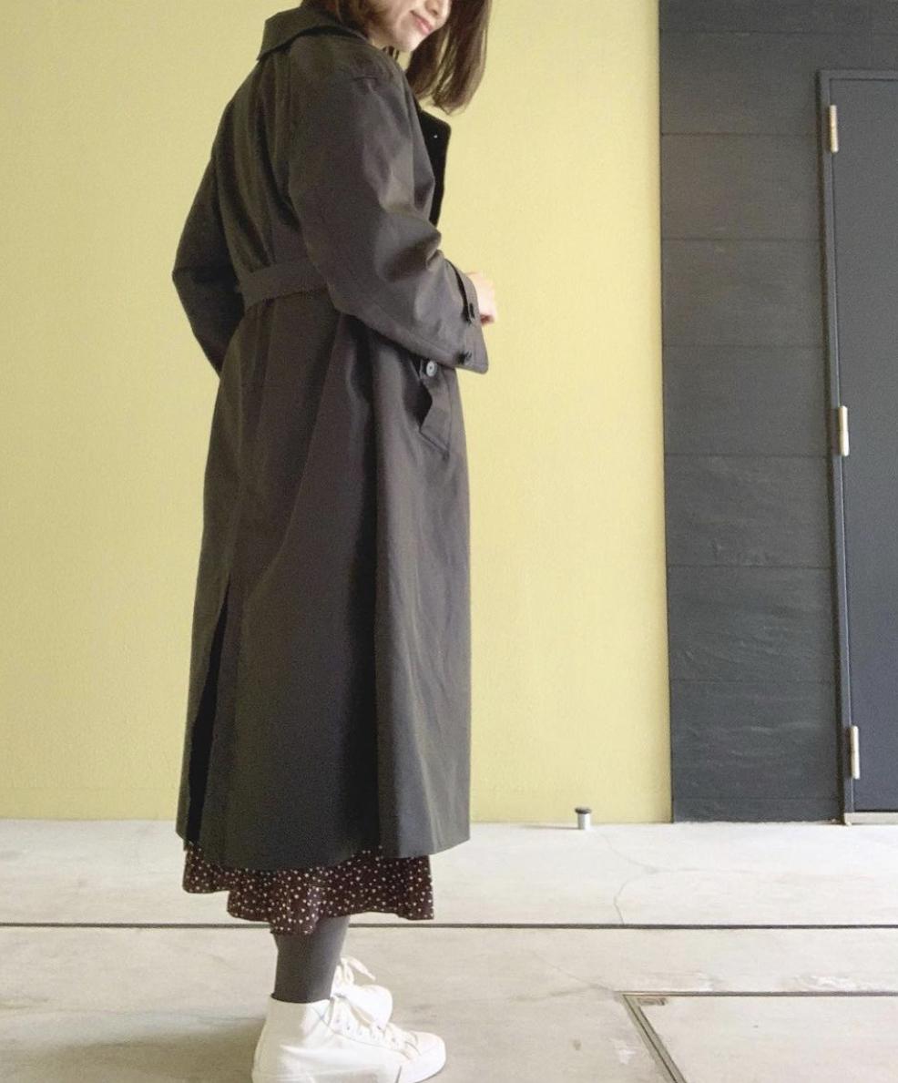 《今季スタメン❤️春コート》【Uniqlo U(ユニクロユー)】着るだけでこなれる!トレンチコート☻_3
