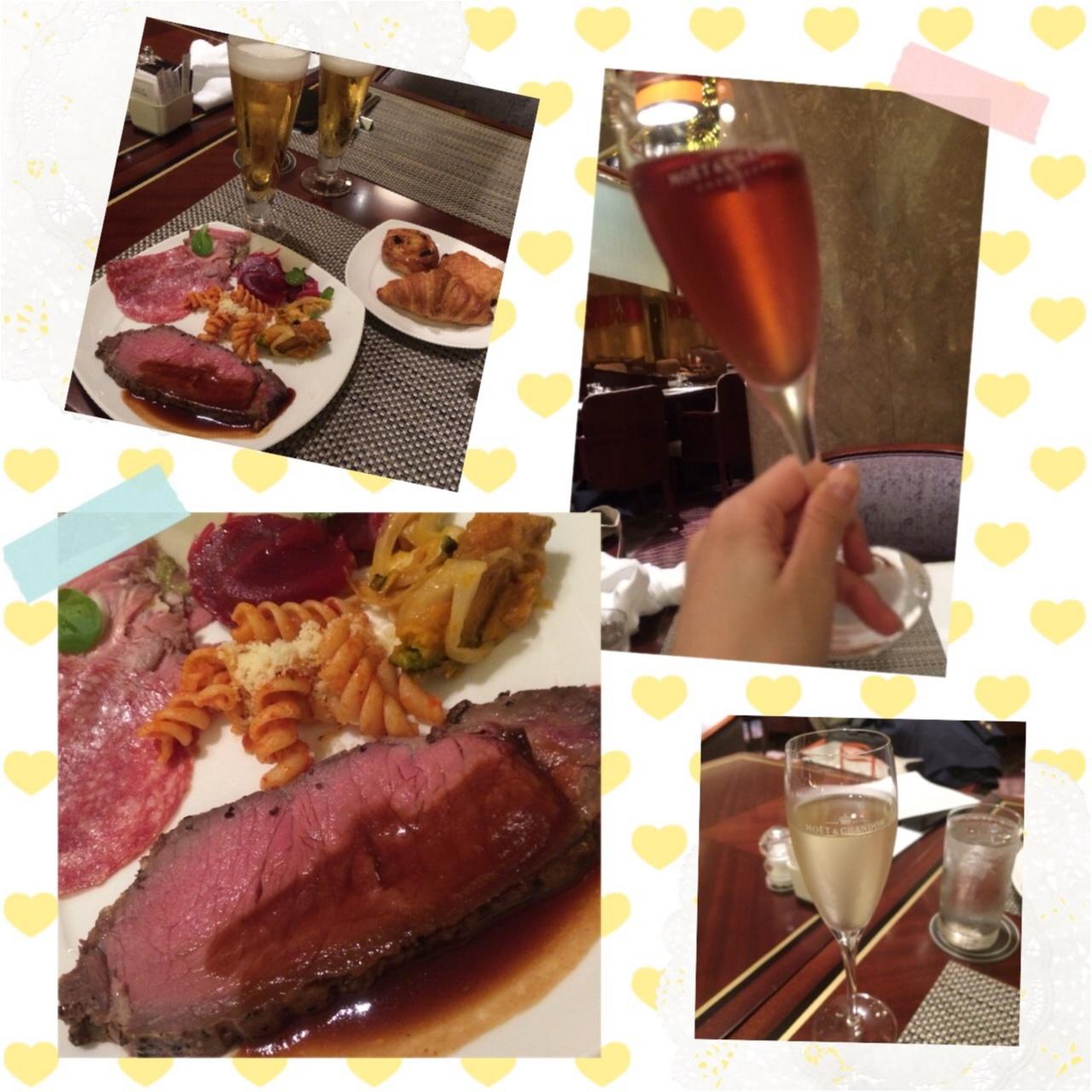 ヒルトン東京 マーブルラウンジのランチビュッフェが豪華でオシャレ♡_3