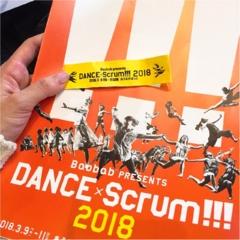 """3つの観""""踊""""スタイルが気になる!!【DANCE×Scrum!!!2018】に行ってきました"""