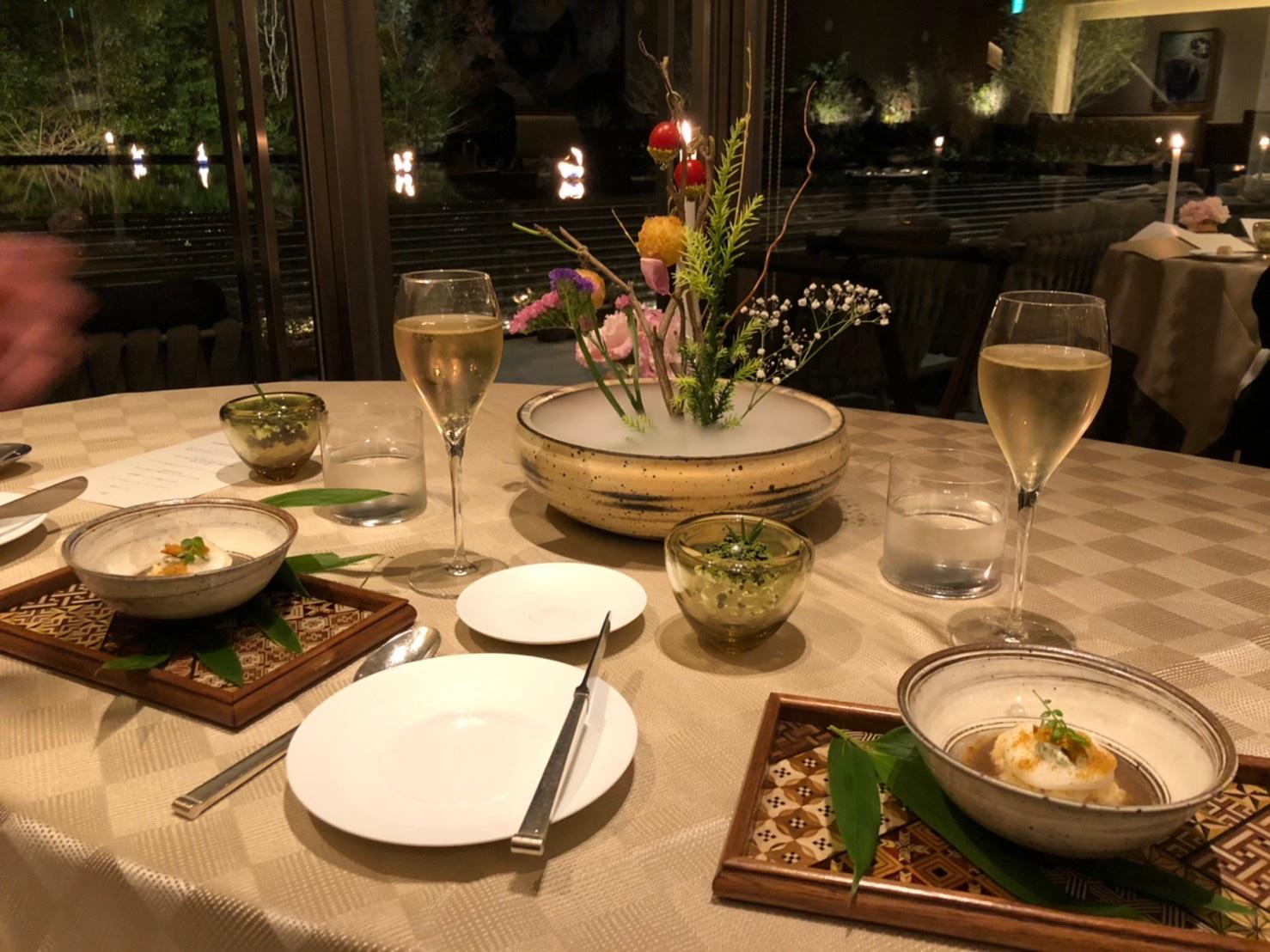 【箱根】《THE HIRAMATSU HOTELS & RESORTS 仙石原》へ行きました〜ディナー編〜_3