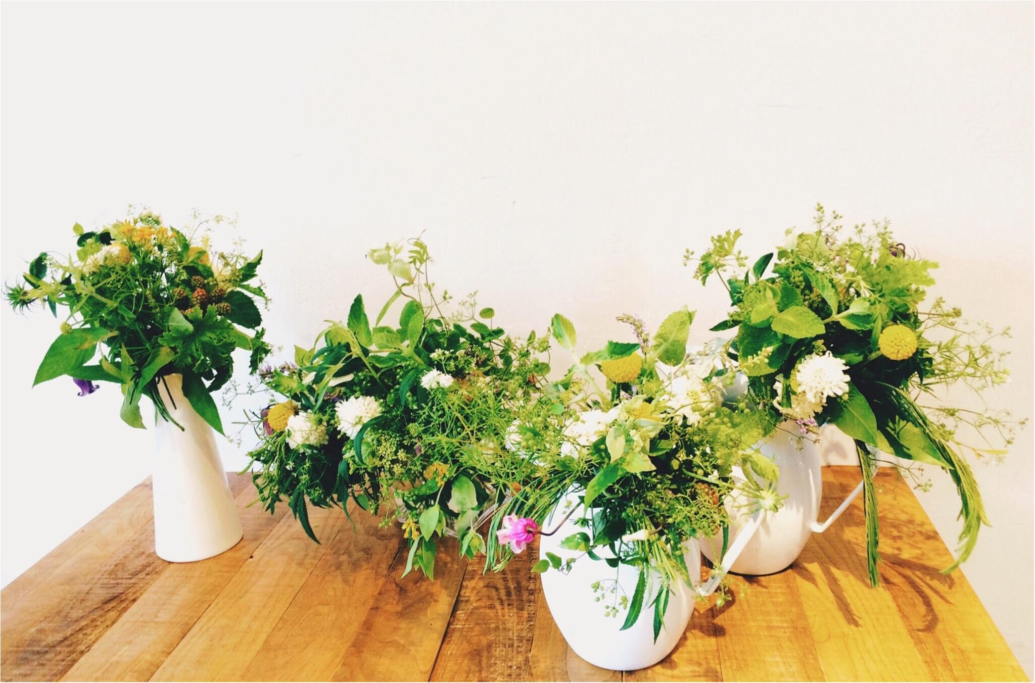 【*お花と珈琲時間な休日*】~食卓花のワークショップ~_10