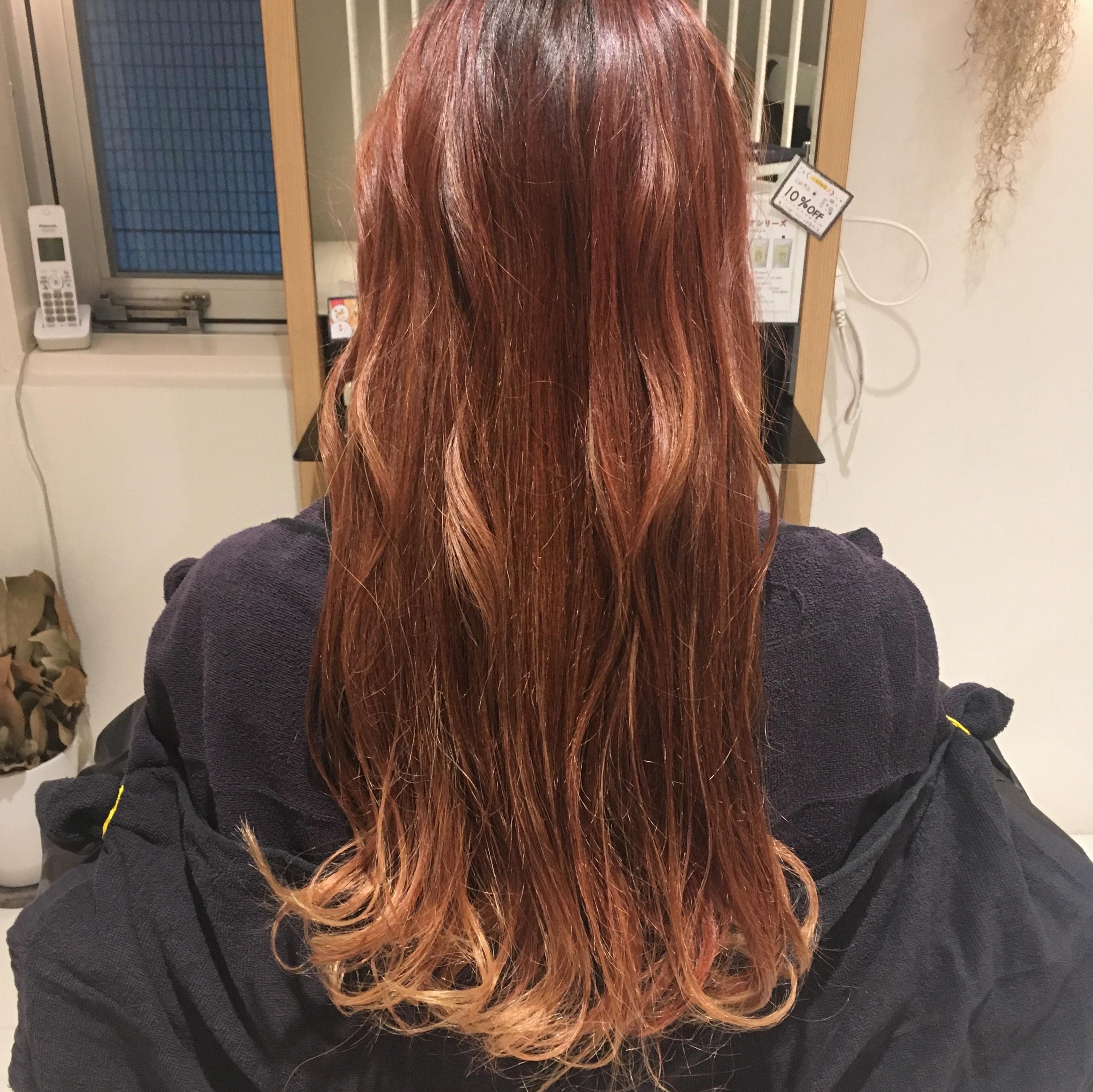 2018年最初のカラーはこの色に決めた!!なりたいカラーが叶うヘアサロン♪_2