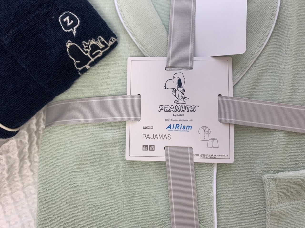 【UNIQLO】PEANUTSエアリズムパイルパジャマで夏のおうち時間をかわいく快適に♡_6