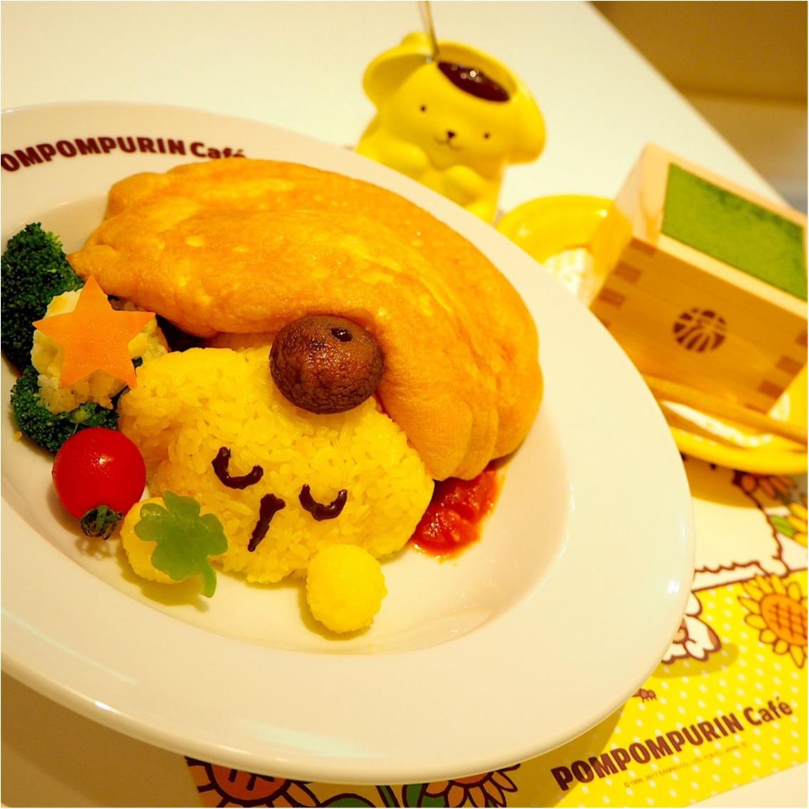 ♡可愛い♡ポムポムプリンカフェに行ってきました_2