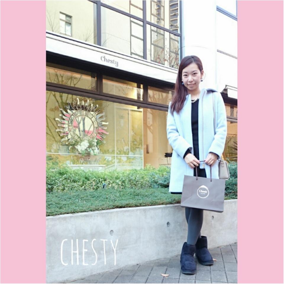 年末年始のお出かけには、chestyワンピがぴったり♡_4