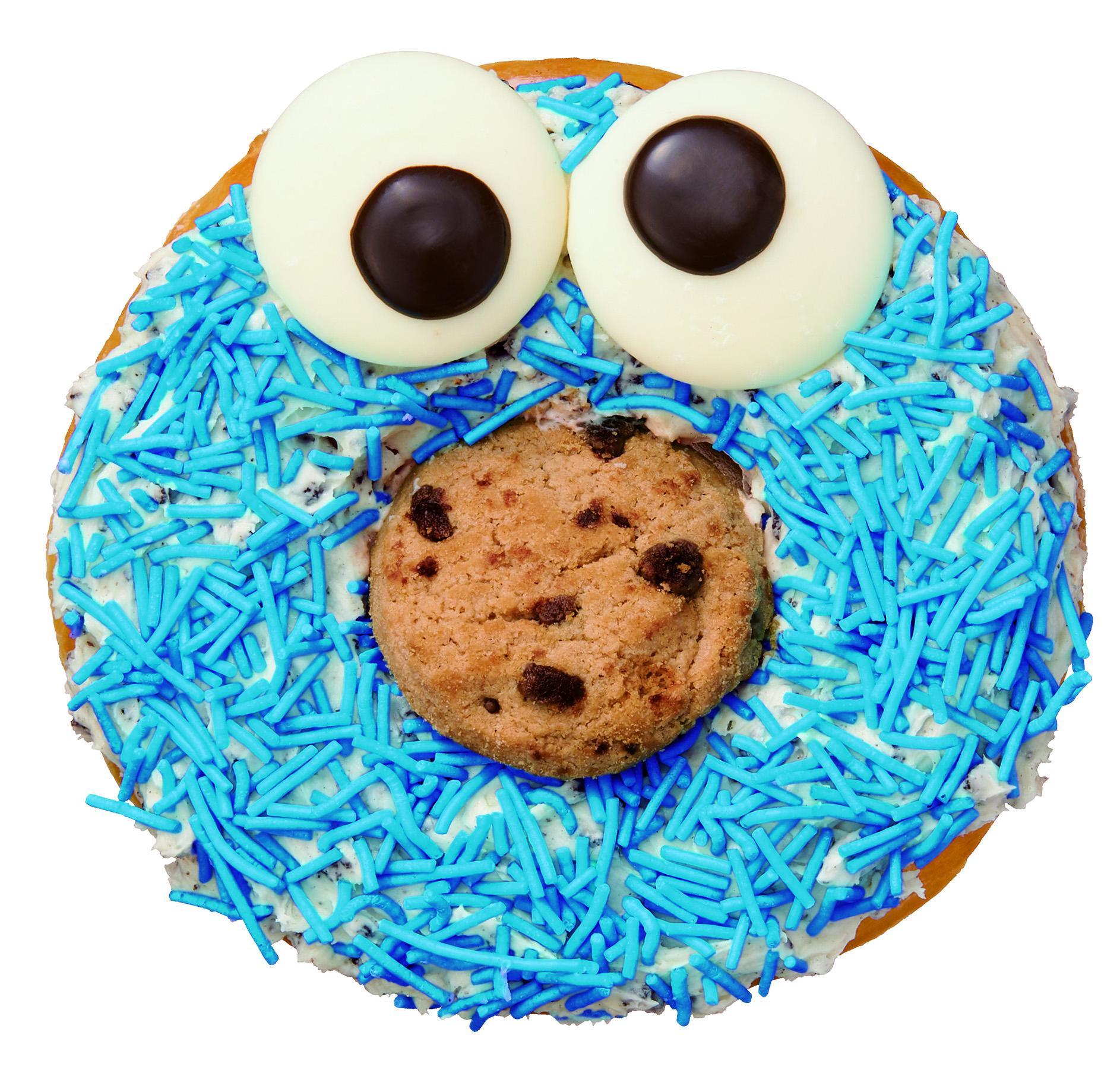 エルモやクッキーモンスターがドーナツに!!  『クリスピー・クリーム・ドーナツ』と『セサミストリート』の限定コラボ登場☆_3