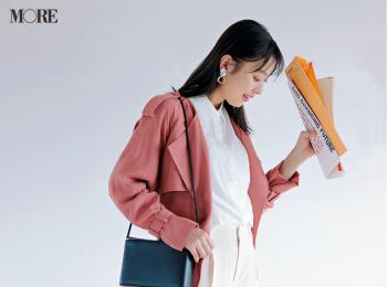 【今日のコーデ】<内田理央>きれい色も旬の柄も使いたい日は基本のコーデをオール白で潔く!