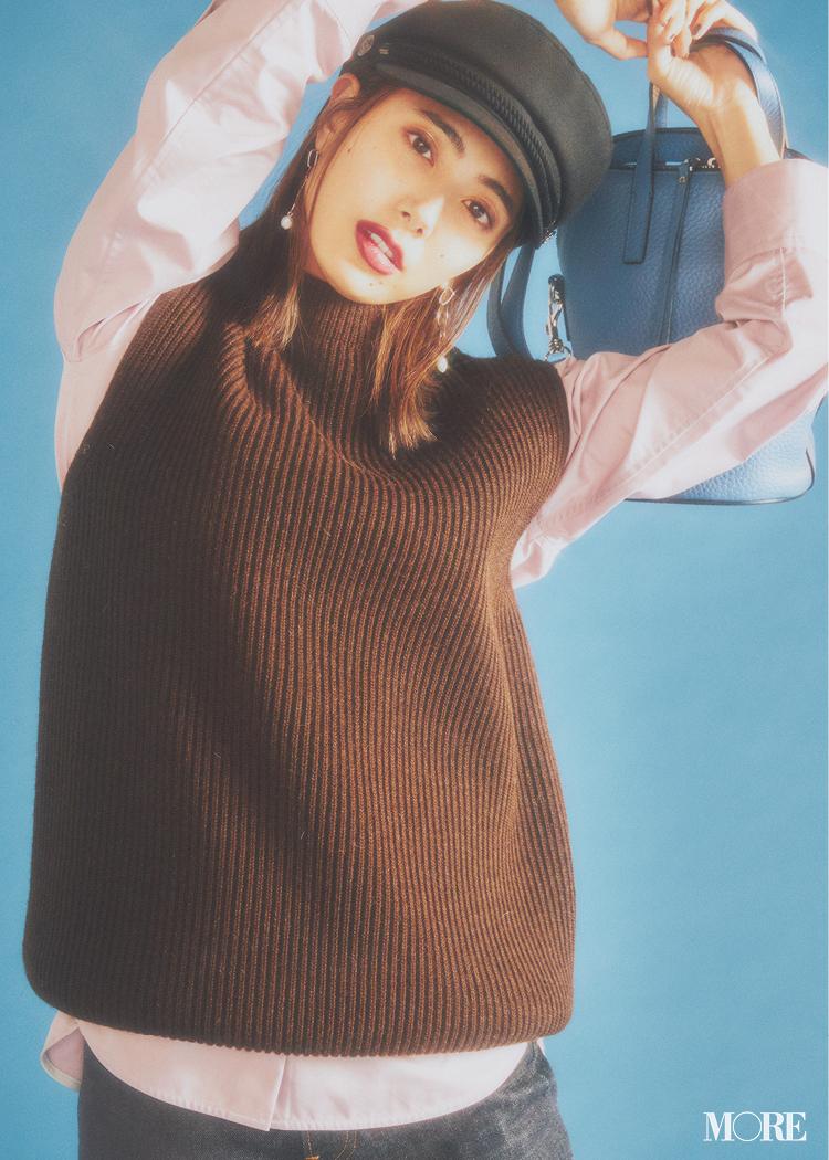 【2020年版】冬ファッションのトレンド特集 - 20代女性の冬コーデにおすすめのニットベストなど最旬アイテム・カラー・柄まとめ_6