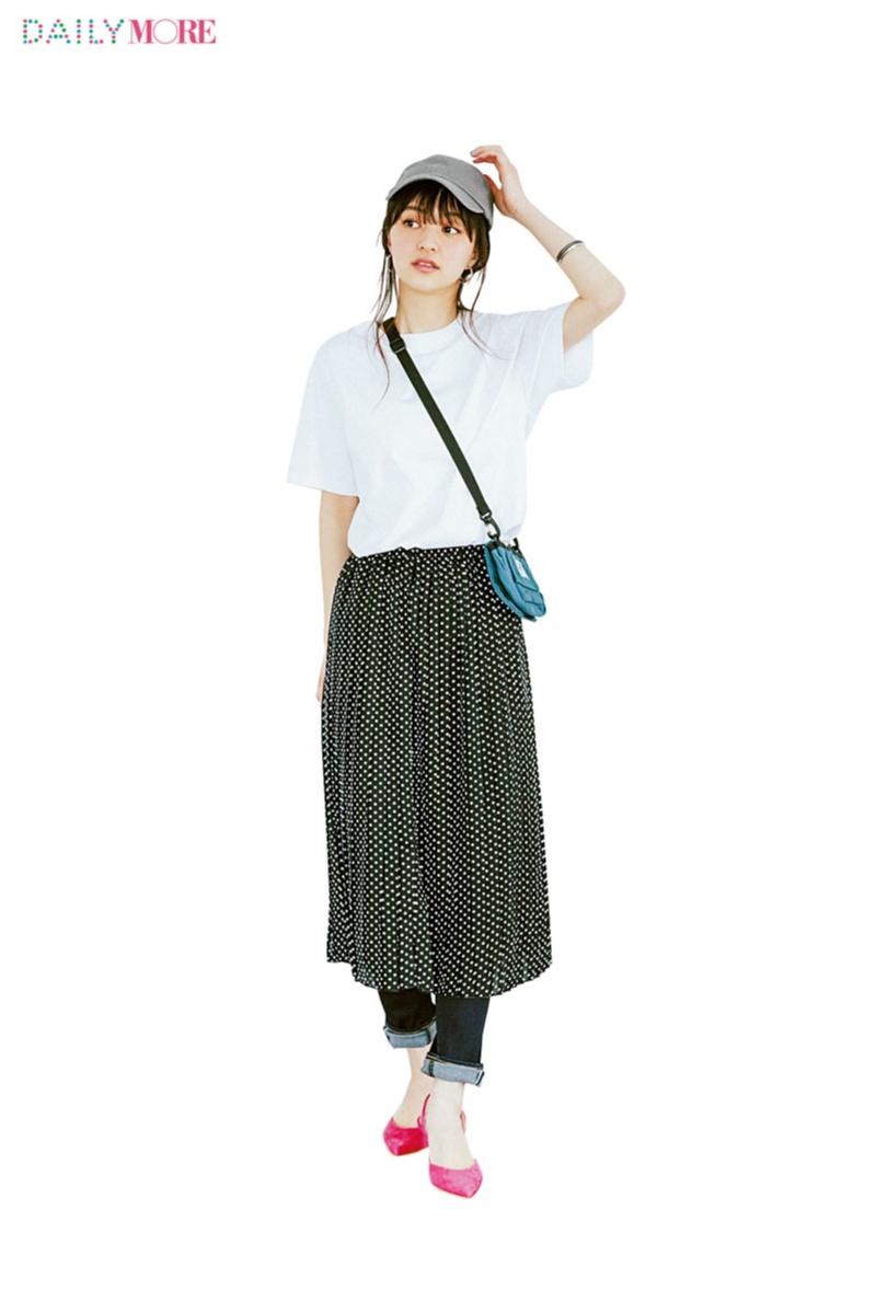 【どこにでも行ける、誰からも褒められる】新生活に『フラワーデイズ』のドット柄スカートがあるといい理由。_2