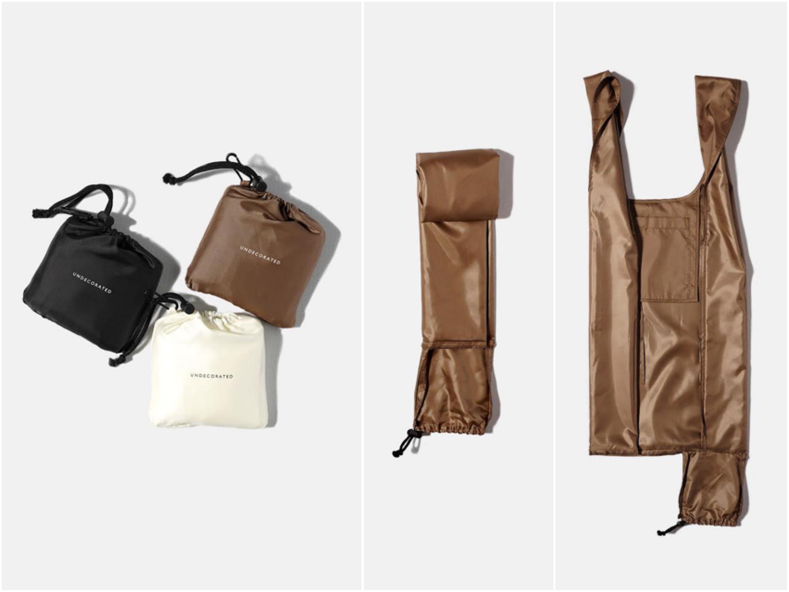 使用済みペットボトルから生まれたエコバッグ「REUSABLE BAG」がおしゃれ! 機能面も大充実なんです♬_2