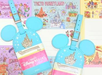 【ディズニーお土産】東京ディズニーランドで作れるラゲッジタグが可愛すぎる♡