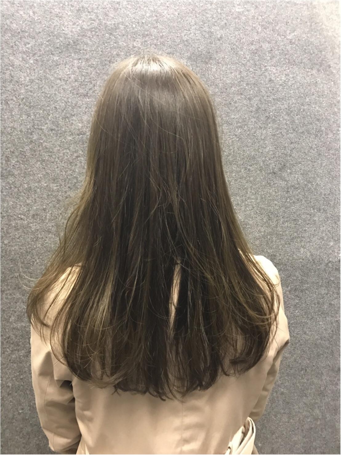 カラーチェンジで髪も春ルンルン♬_1