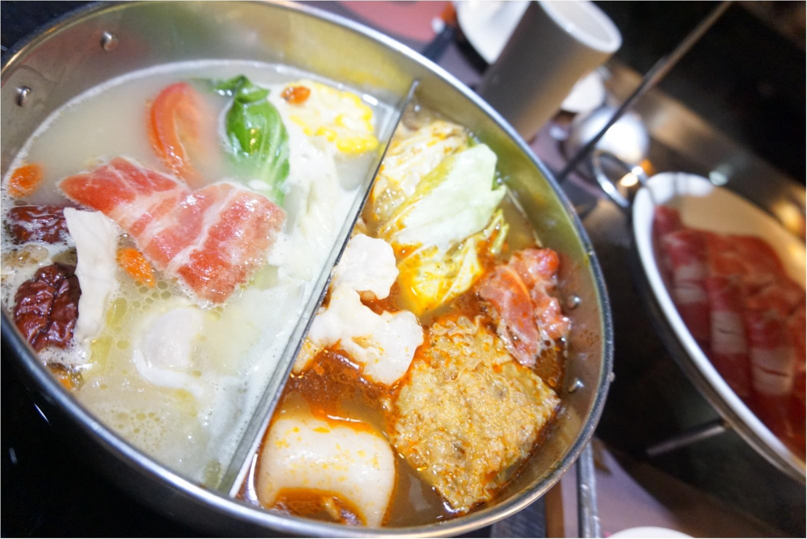 ☺︎♡台湾。1人旅行!完全自分好み!1人でも食べに行ける!友達とでもおすすめな火鍋屋さん!_2