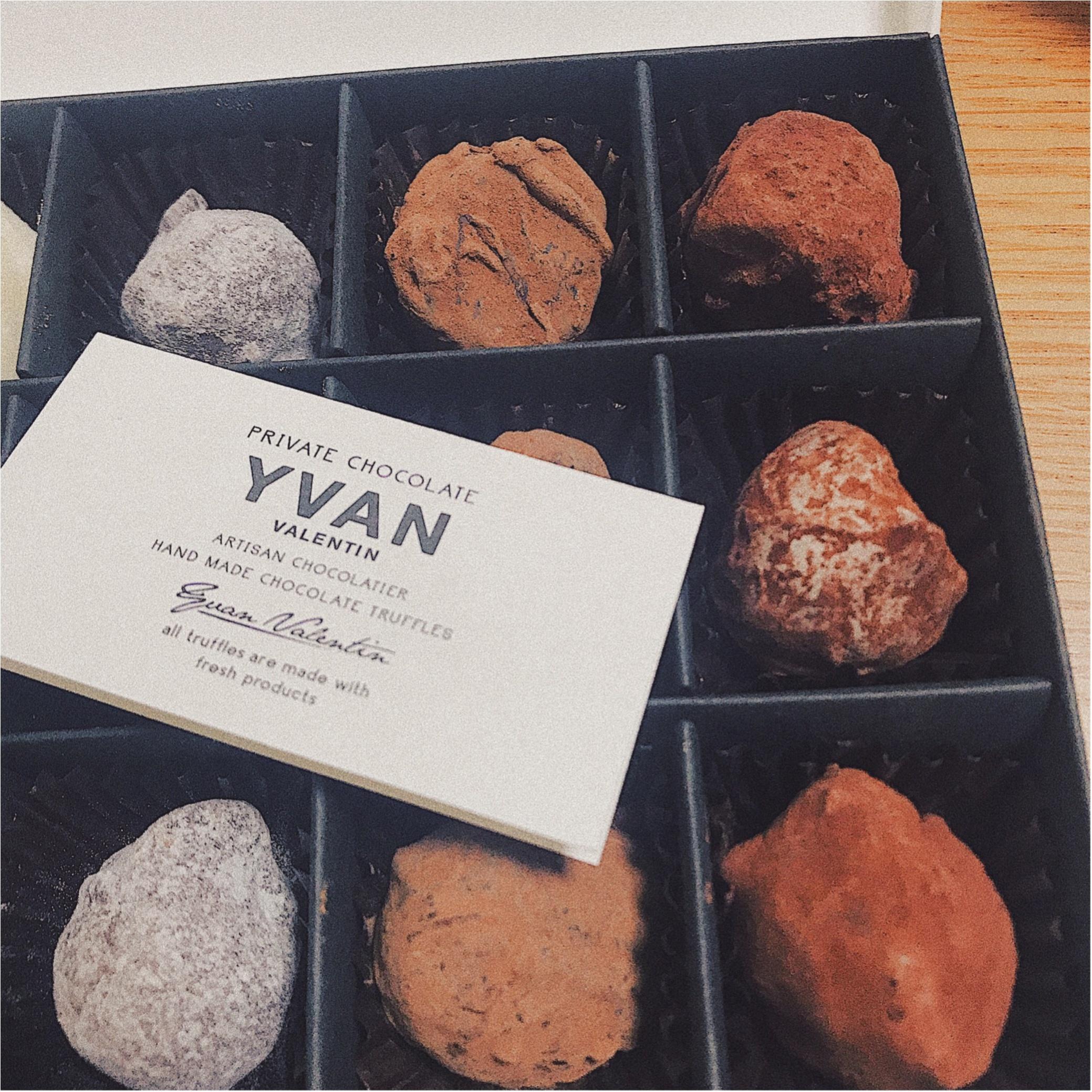 【特別バレンタイン】第2弾!やっと買えた今しか買えない幻のチョコレート《YVAN VALENTIN》ゲットしました♡♡_2