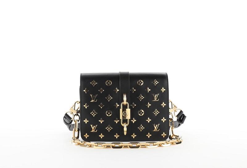 ルイ・ヴィトンの新作バッグ「ランデヴー」ブラック×ゴールド