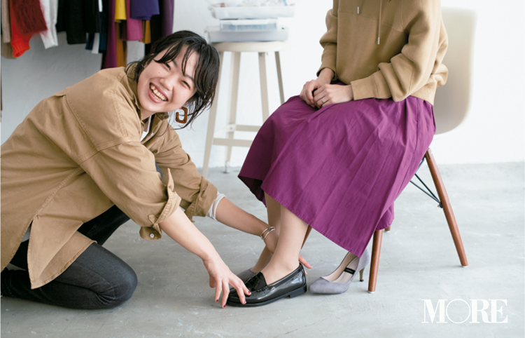 【読者変身】無難、甘すぎ、いつも同じ……きれい色スカートのお悩み、スタイリスト高野さんが解決します☆ 記事Photo Gallery_1_15