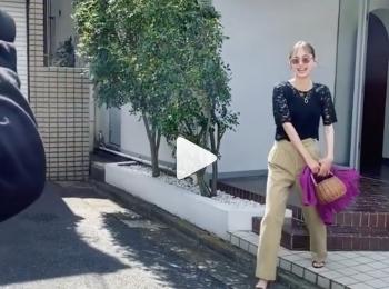 笑顔が可愛いすぎるいげちゃん♡(動画あり)【MORE6・7月号の撮影オフショット】