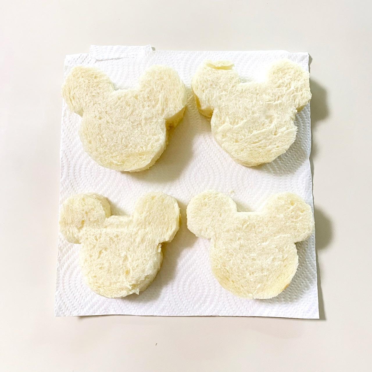 【ディズニーランド】のフレンチトースト♡公式レシピで作ってみました!_2