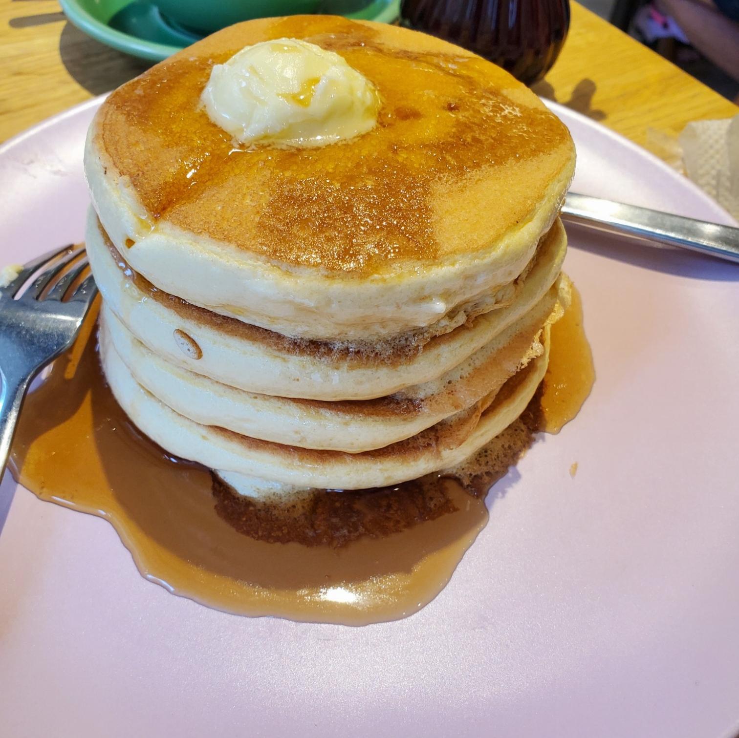 ≪神戸カフェ≫ふわふわ&とろとろパンケーキ♡【belle-ville】_1