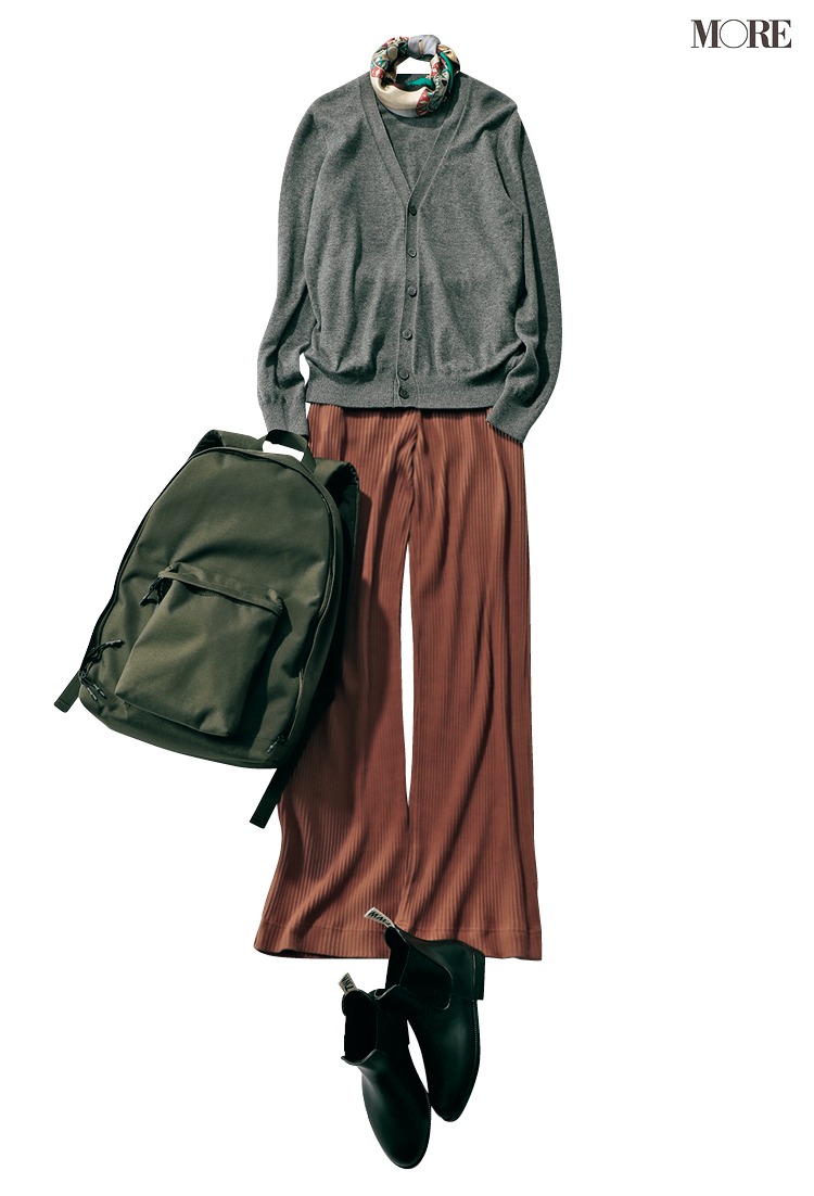 お母さんと本音で話せた(涙)。パンツ派巴瑞季・スカート派りな「秋ボトムに何合わせてく?」着回し23日目_2