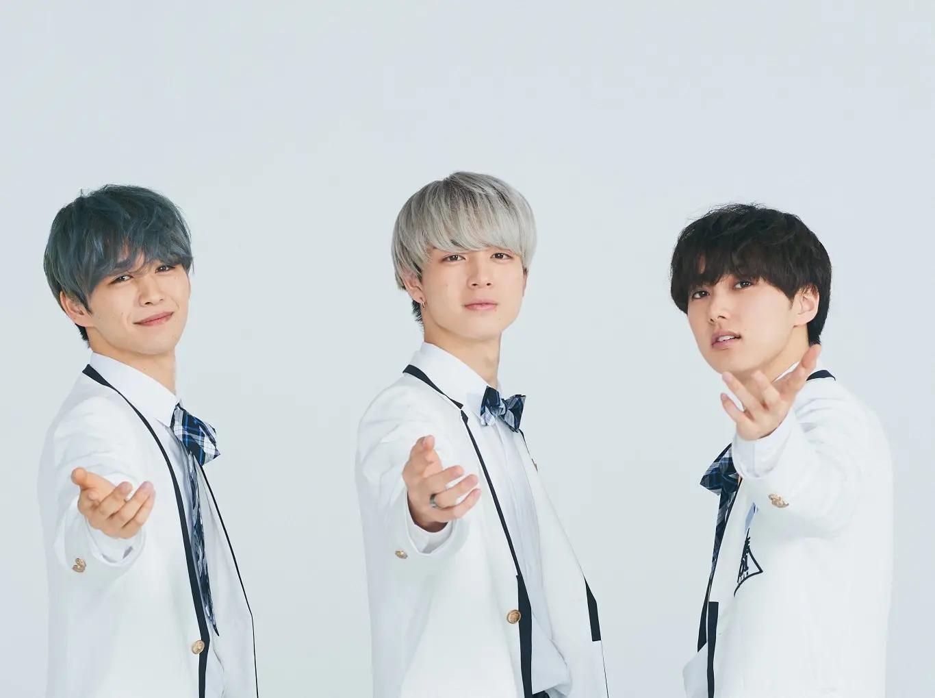 (左から)後藤威尊、佐野雄大、尾崎匠海