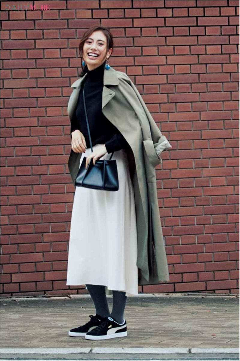 【黒orグレイ。迷うことない?】スカートの色にベストマッチなタイツの選び方、教えます☆_1_3