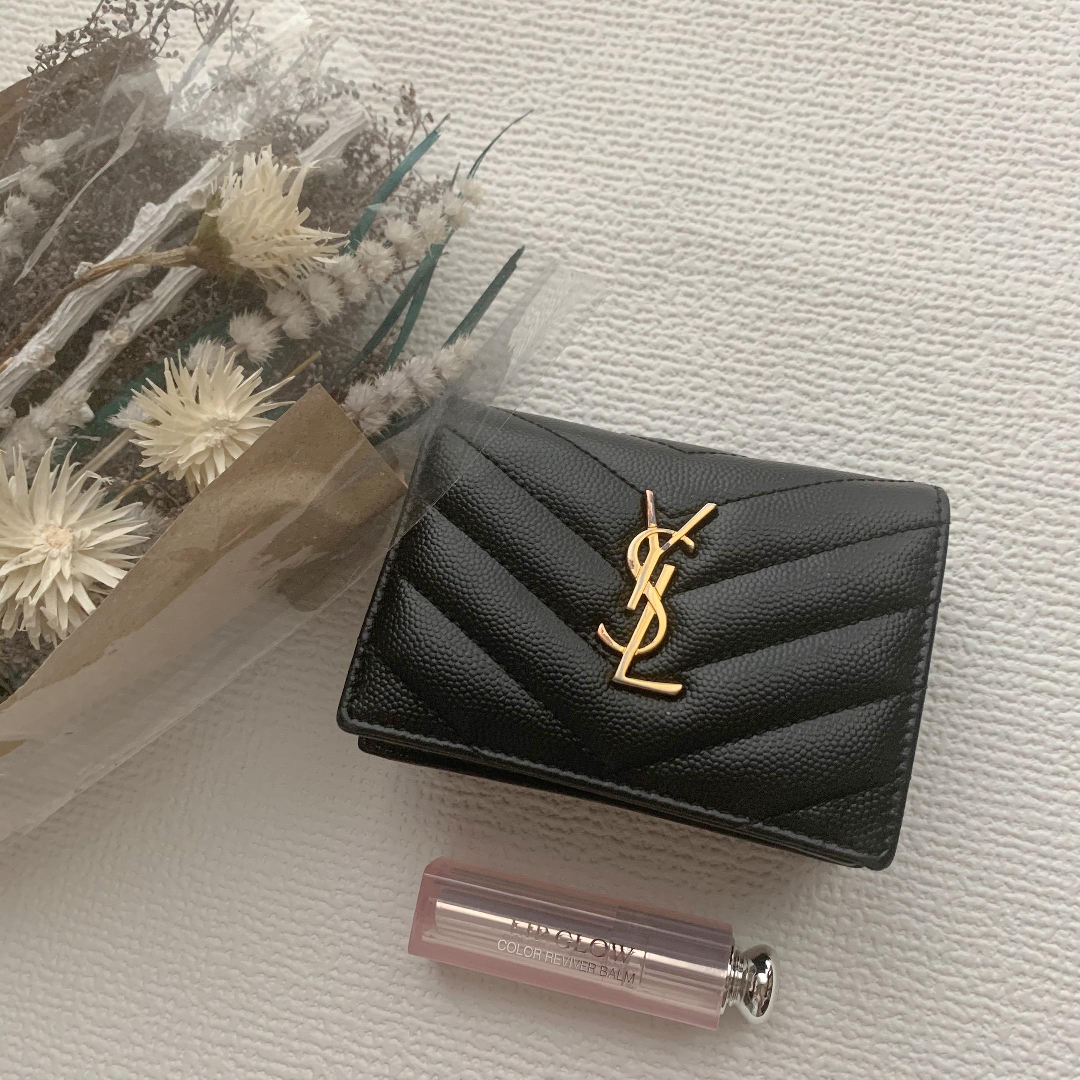 """【20代女子の愛用財布】""""Yves Saint Laurent""""便利ミニ財布♥_1"""