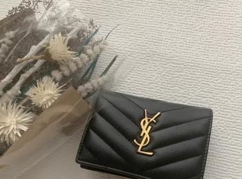 """【20代女子の愛用財布】""""Yves Saint Laurent""""便利ミニ財布♥"""
