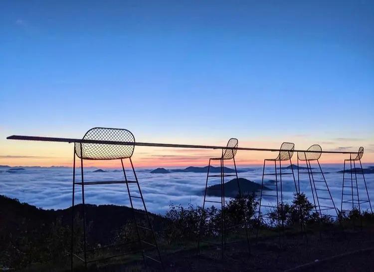 星野リゾート トマムザ・タワーの雲海テラス