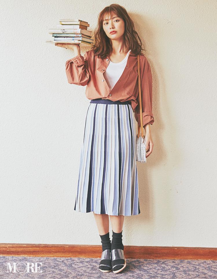 2月にスエードやツイードなど【重ため素材のスカート】を選ぶと春も得するってウワサ!_1_8