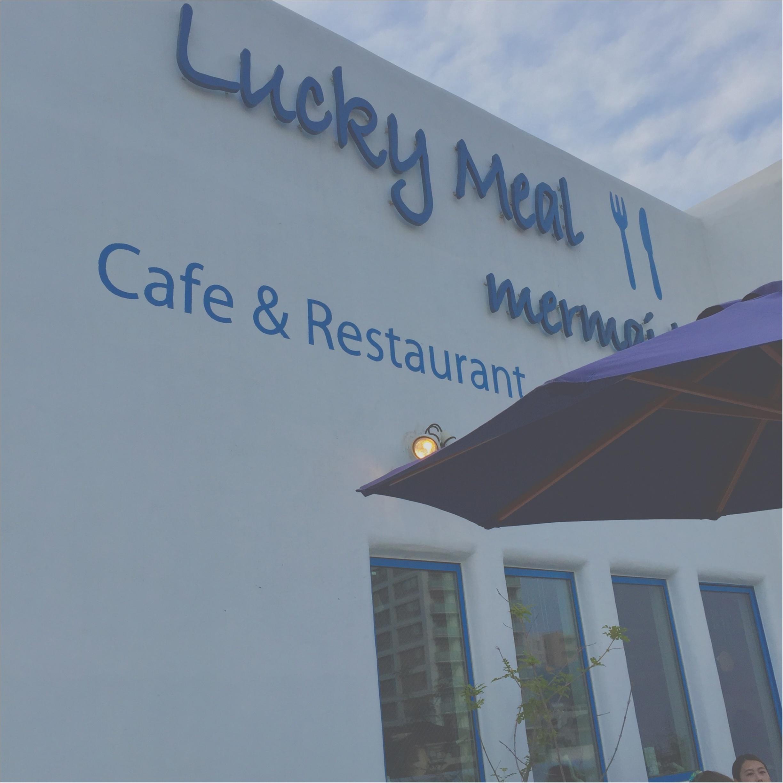 【江ノ島cafe】ホワイト×ブルーの地中海リゾートカフェ。晴れてる日はテラス席がおすすめ!!_1