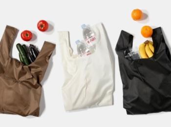 使用済みペットボトルから生まれたエコバッグ「REUSABLE BAG」がおしゃれ! 機能面も大充実なんです♬