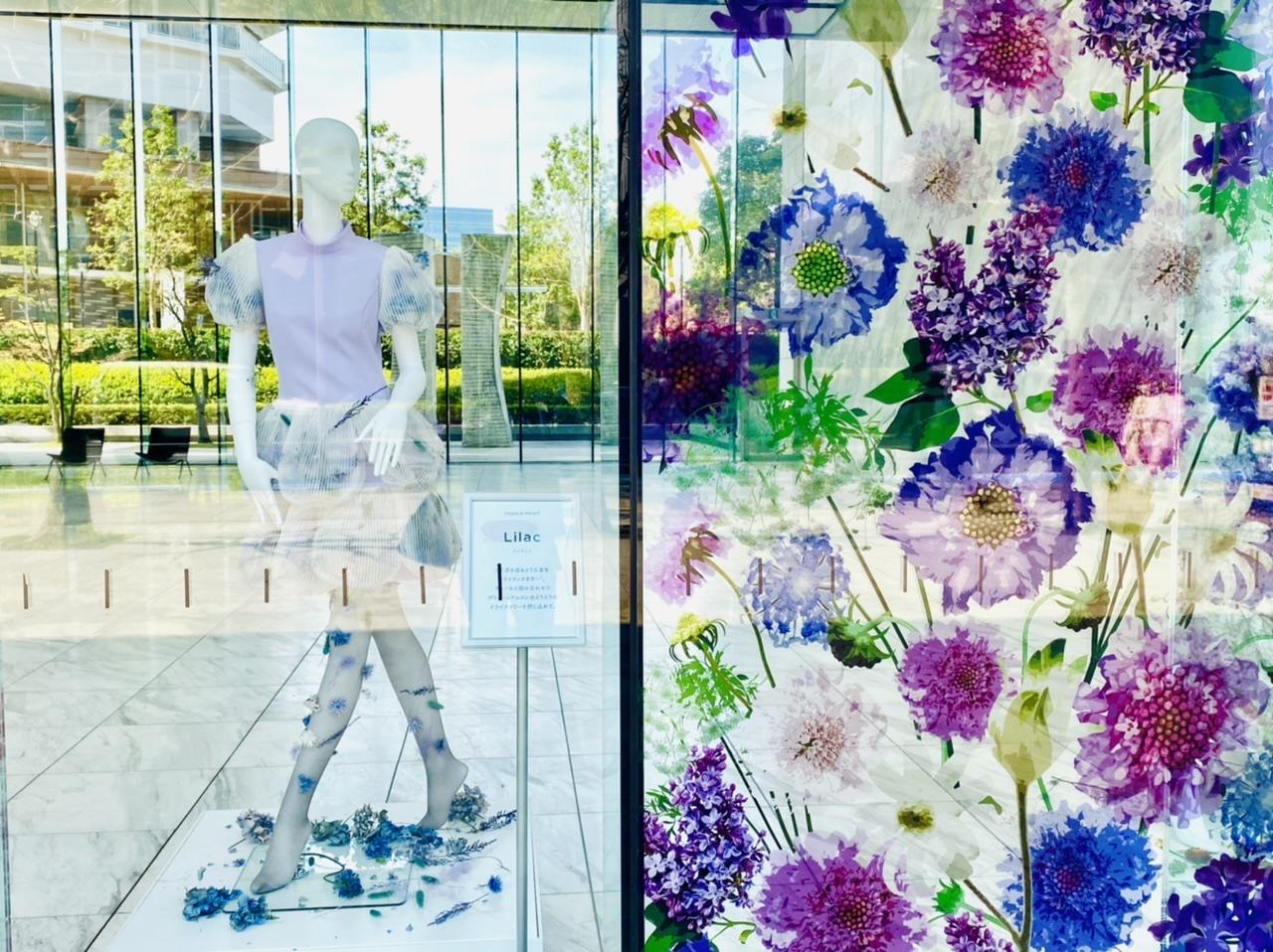 【ロスフラワーアート展】花のドレスが圧巻!春の花束フラワーショップもOPEN♡_4