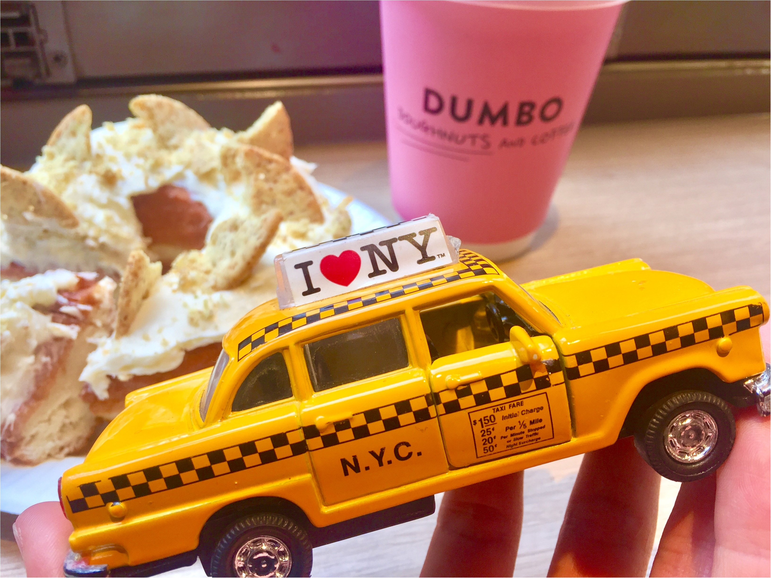 【FOOD】人気の理由を徹底解剖!おしゃれな人はみーんな行ってる♡DUMBO Doughnuts and Coffee♡_4