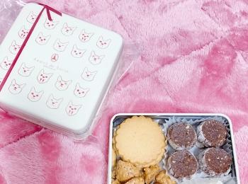 【東京】猫の缶で有名な アディクト オ シュクルのクッキー缶【手土産 おもたせ お土産】