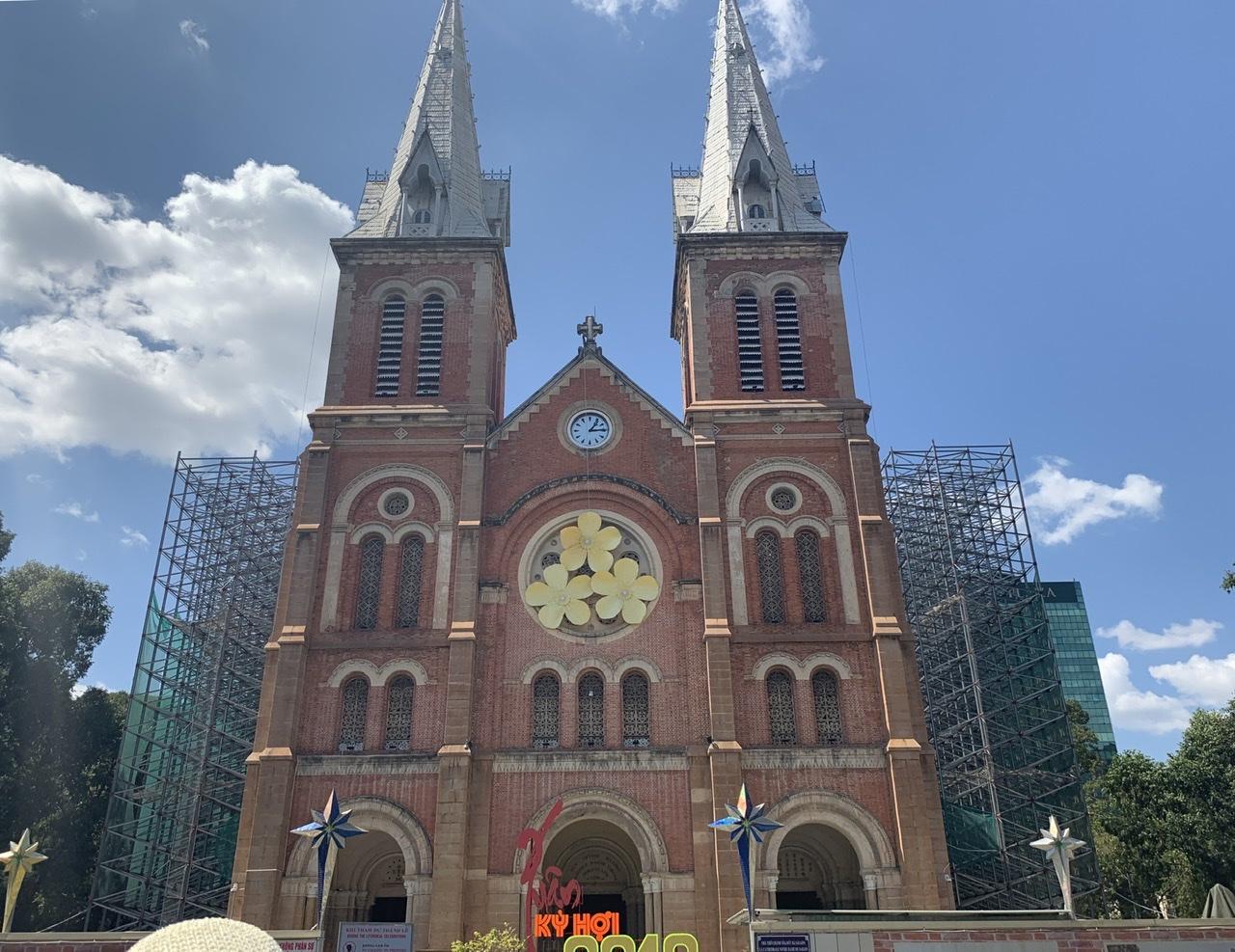 サイゴン大教会(聖母マリア)の写真