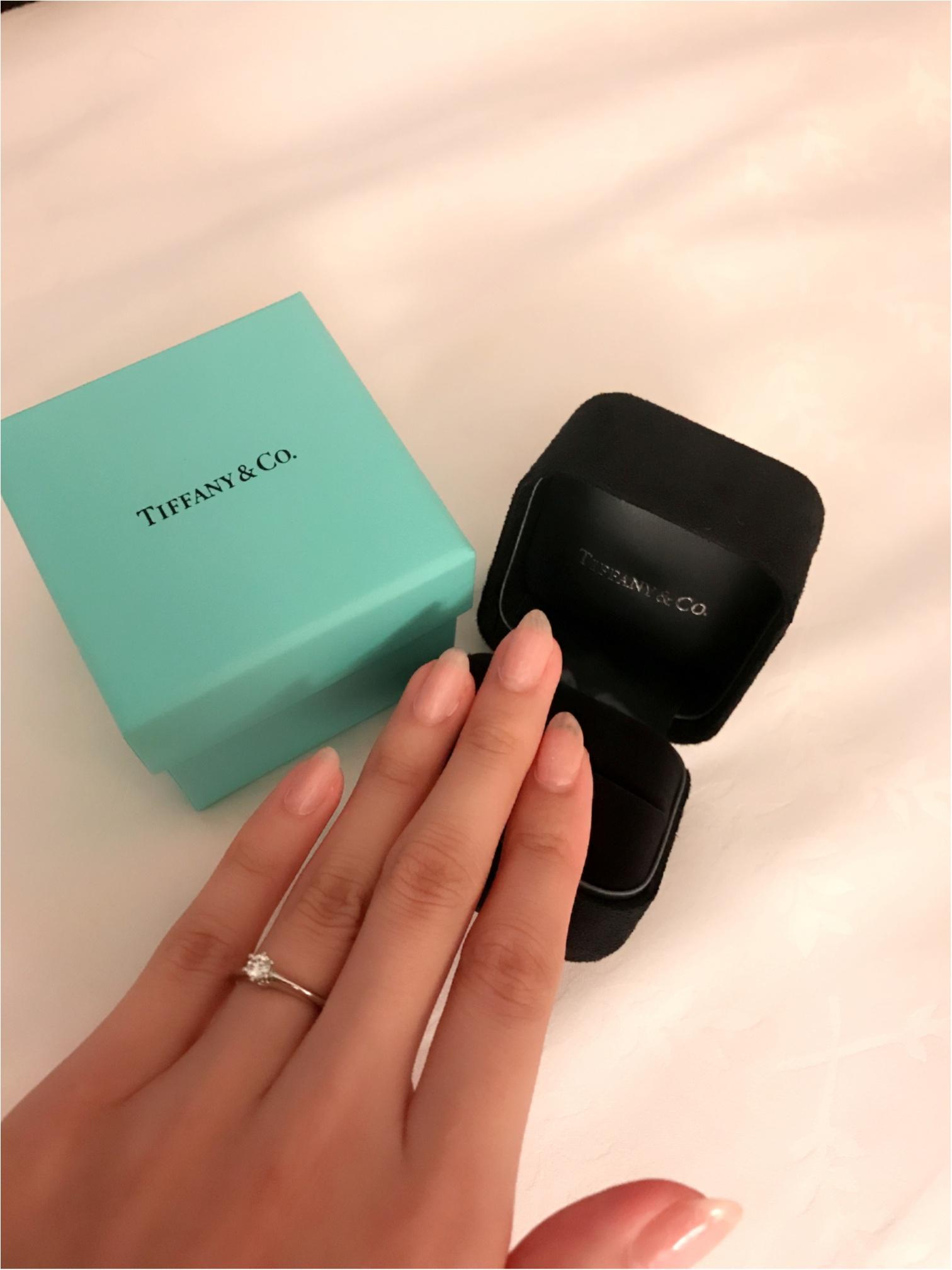 婚約指輪は憧れのティファニー♡~Tiffany & Co.~_3