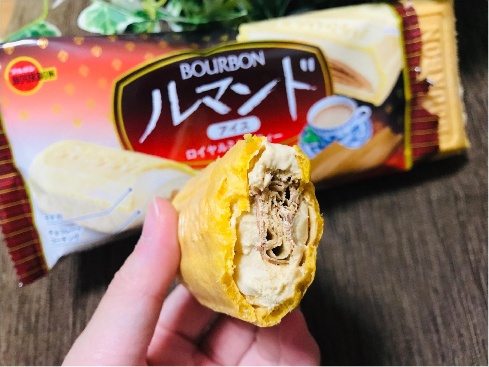 【ルマンドアイス】ついに関東に上陸!《ロイヤルミルクティ味》が前作超えの美味しさ❤︎_3