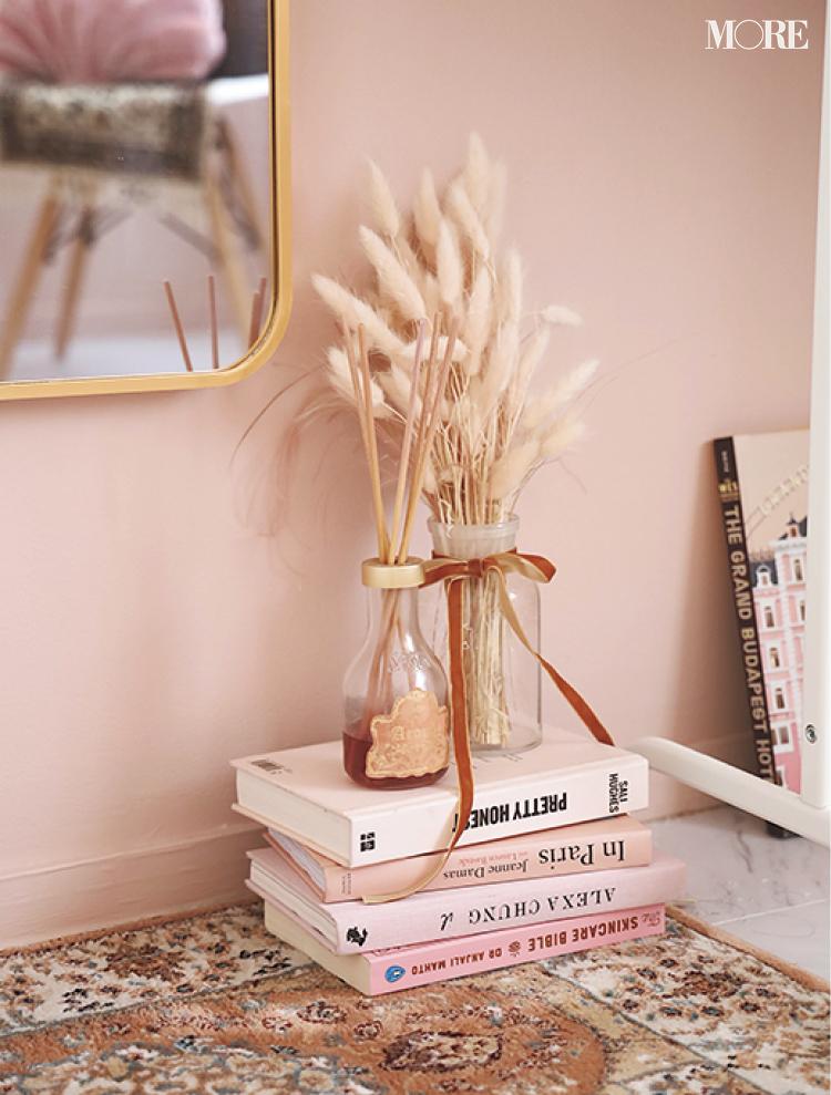 壁や床をDIY♡ 『楽天ROOM』『Francfranc』『イケア』などでインテリアや雑貨も厳選した、おしゃれなピンクの部屋作りに注目_5